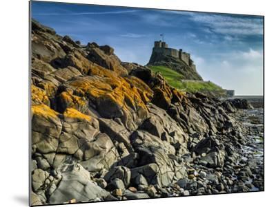 Europe, England, Northumberland, Holy Island, Lindisfarne Castle-Mark Sykes-Mounted Photographic Print