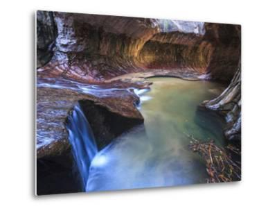 USA, Utah, Zion Canyon National Park, the Subway-Michele Falzone-Metal Print