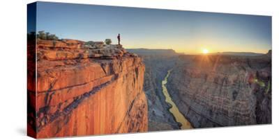 USA, Arizona, Grand Canyon National Park (North Rim), Toroweap (Tuweep)-Michele Falzone-Stretched Canvas Print
