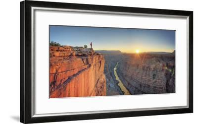 USA, Arizona, Grand Canyon National Park (North Rim), Toroweap (Tuweep)-Michele Falzone-Framed Photographic Print