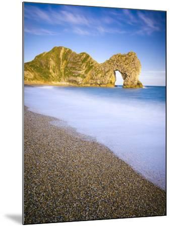 UK, Dorset, Jurassic Coast, Durdle Door Rock Arch-Alan Copson-Mounted Photographic Print