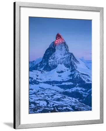 Matterhorn, Zermatt, Valais, Switzerland-Jon Arnold-Framed Photographic Print