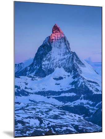 Matterhorn, Zermatt, Valais, Switzerland-Jon Arnold-Mounted Photographic Print