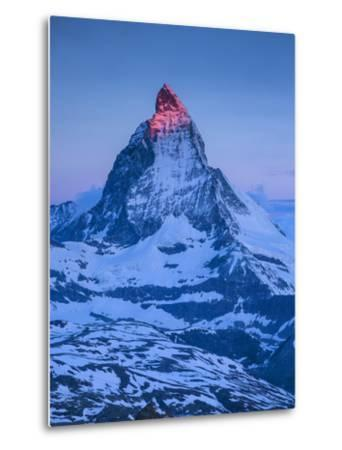 Matterhorn, Zermatt, Valais, Switzerland-Jon Arnold-Metal Print