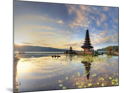 Indonesia, Bali, Bedugul, Pura Ulun Danau Bratan Temple on Lake Bratan-Michele Falzone-Mounted Photographic Print