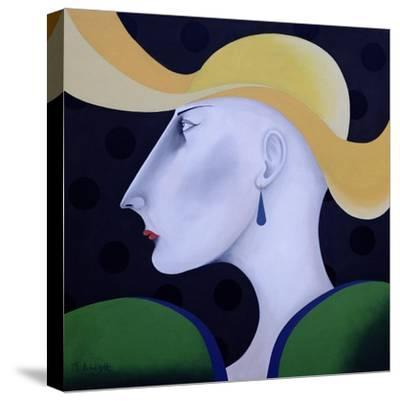 Women in Profile Series, No.19, 1998-John Wright-Stretched Canvas Print