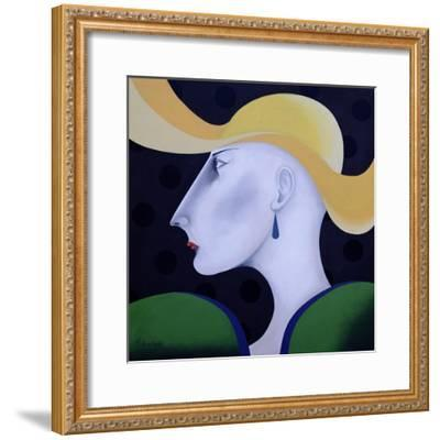 Women in Profile Series, No.19, 1998-John Wright-Framed Giclee Print
