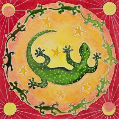 Gecko, 1998-Vivika Alexander-Framed Giclee Print
