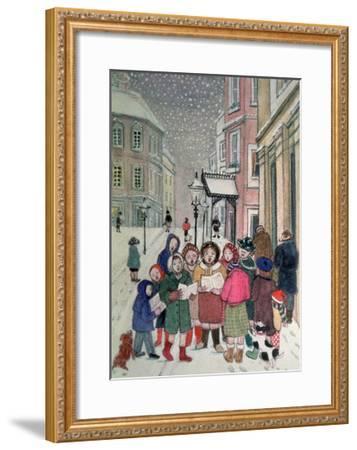 Carol Singers-Gillian Lawson-Framed Giclee Print