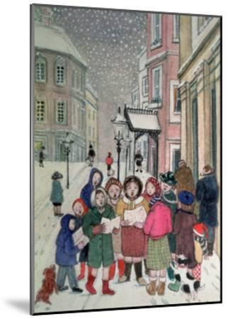 Carol Singers-Gillian Lawson-Mounted Giclee Print