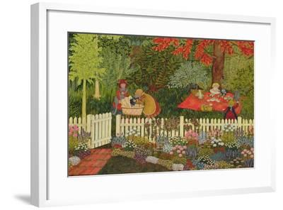 Children and Cats-Ditz-Framed Giclee Print