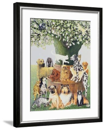 The Trysting Tree-Pat Scott-Framed Giclee Print