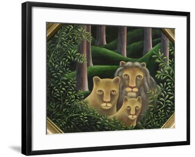 Hiding Place-Jerzy Marek-Framed Giclee Print