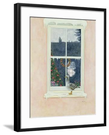 The Christmas Goose-Ditz-Framed Giclee Print