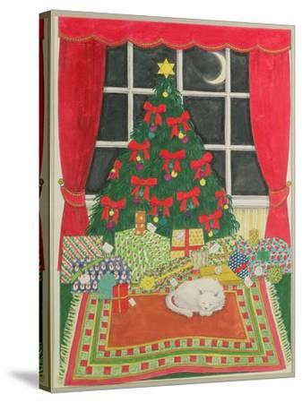 Christmas Tree-Linda Benton-Stretched Canvas Print