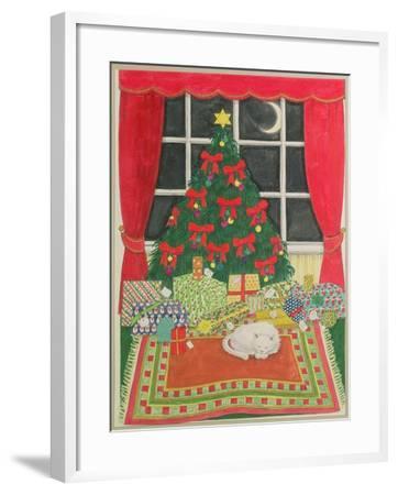 Christmas Tree-Linda Benton-Framed Giclee Print