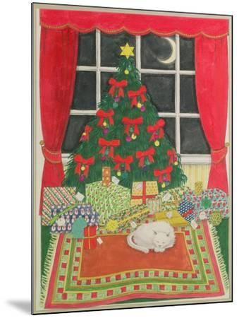 Christmas Tree-Linda Benton-Mounted Giclee Print