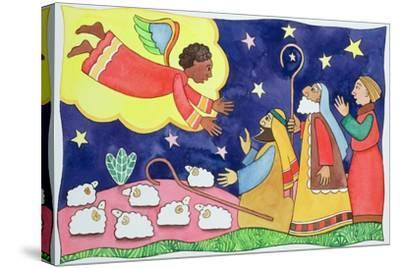 Annunciation to the Shepherds-Cathy Baxter-Stretched Canvas Print