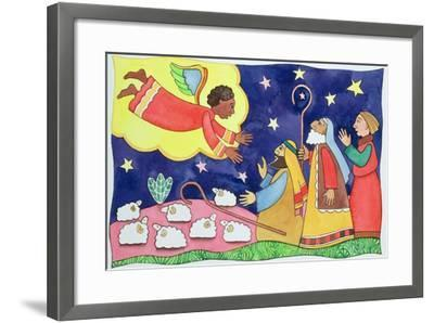 Annunciation to the Shepherds-Cathy Baxter-Framed Giclee Print