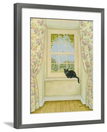 The Window Cat-Ditz-Framed Giclee Print