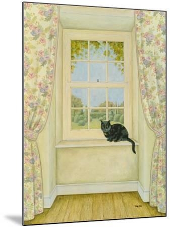 The Window Cat-Ditz-Mounted Giclee Print