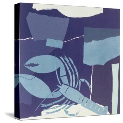Lobster-John Wallington-Stretched Canvas Print