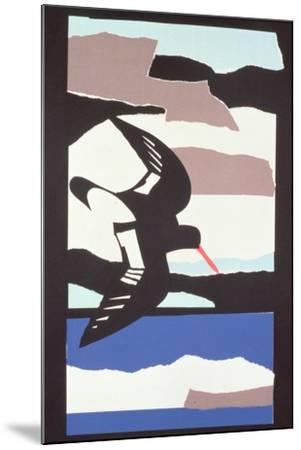 Oystercatcher-John Wallington-Mounted Giclee Print