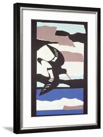 Oystercatcher-John Wallington-Framed Giclee Print