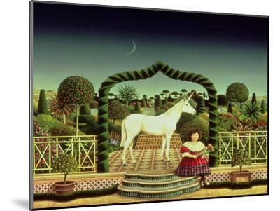 Girl with a Unicorn, 1980-Anthony Southcombe-Mounted Giclee Print