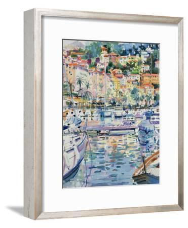 Riviera Yachts, 1996-Peter Graham-Framed Giclee Print