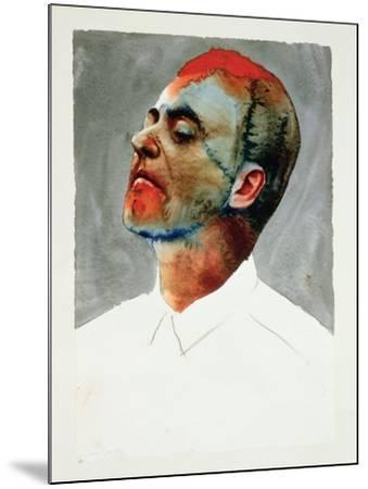 Study for Cartel, 1987-Graham Dean-Mounted Giclee Print