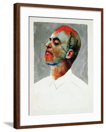 Study for Cartel, 1987-Graham Dean-Framed Giclee Print