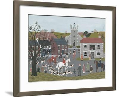 Setting Out from 'The Plough'-Vincent Haddelsey-Framed Giclee Print