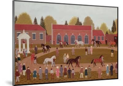 Racehorse Sales-Vincent Haddelsey-Mounted Giclee Print