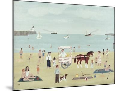 Selling Ice-Creams-Vincent Haddelsey-Mounted Giclee Print