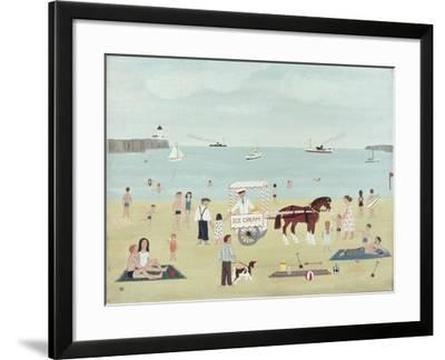 Selling Ice-Creams-Vincent Haddelsey-Framed Giclee Print