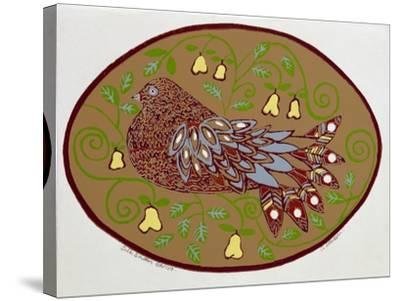 Partridge in a Pear Tree-Gillian Lawson-Stretched Canvas Print