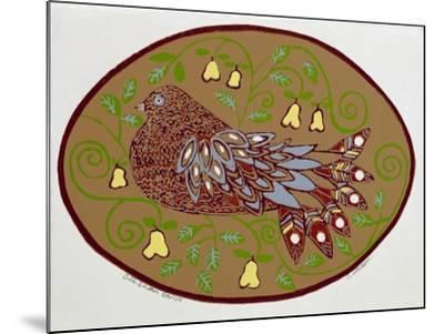 Partridge in a Pear Tree-Gillian Lawson-Mounted Giclee Print