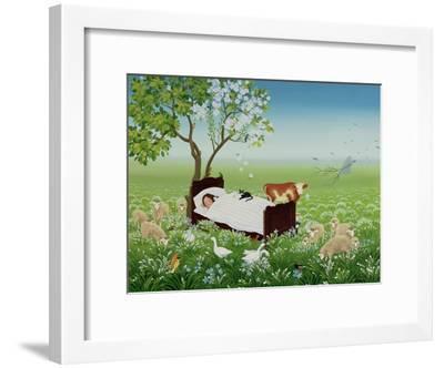 Lena's Dream-Magdolna Ban-Framed Giclee Print
