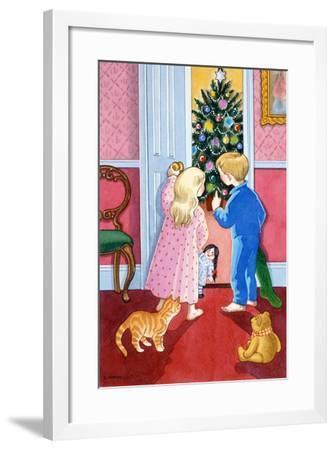 Look at the Christmas Tree-Lavinia Hamer-Framed Giclee Print