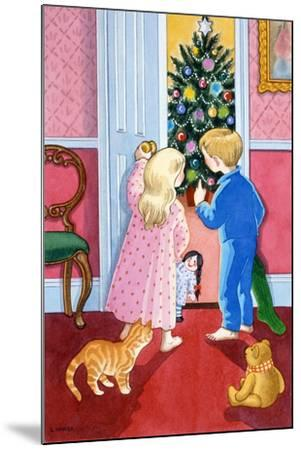 Look at the Christmas Tree-Lavinia Hamer-Mounted Giclee Print