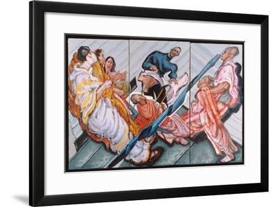 Followers of Krishna, 1996-Alek Rapoport-Framed Giclee Print