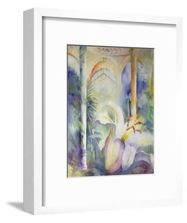 Lily at Syon House-Karen Armitage-Framed Giclee Print