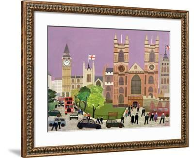 The Five Towers of Westminster-William Cooper-Framed Giclee Print