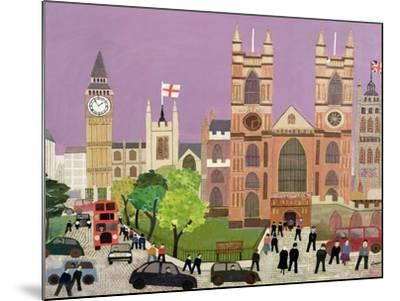 The Five Towers of Westminster-William Cooper-Mounted Giclee Print