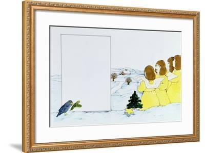 The Angel Carol Singers-Christian Kaempf-Framed Giclee Print