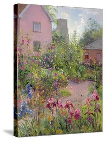 Herb Garden at Noon-Timothy Easton-Stretched Canvas Print