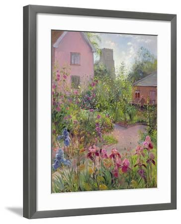 Herb Garden at Noon-Timothy Easton-Framed Giclee Print