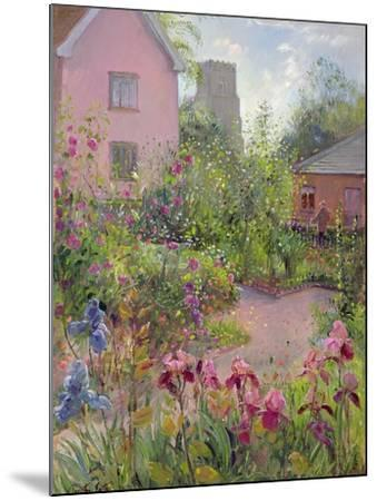Herb Garden at Noon-Timothy Easton-Mounted Giclee Print