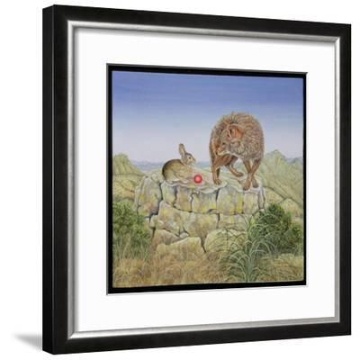 Lion's Hotel-Ditz-Framed Giclee Print